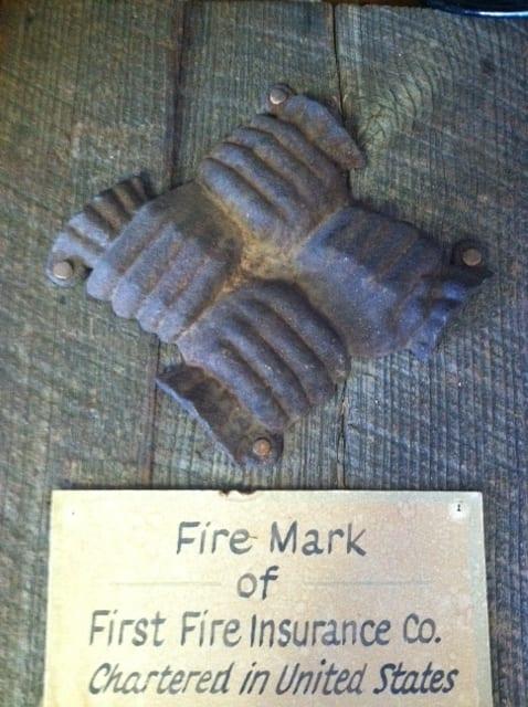 Throwback thursday Fire Mark